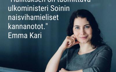 Milloin alatte puolustaa naisten oikeuksia, Orpo ja Sipilä?